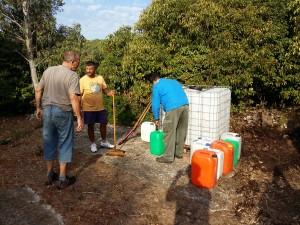 Nettoyage et remplissage Bac